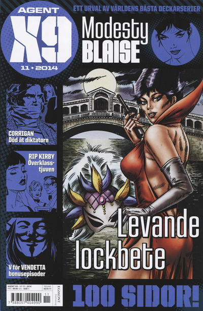 Cover for Agent X9 (Egmont, 1997 series) #11/2014