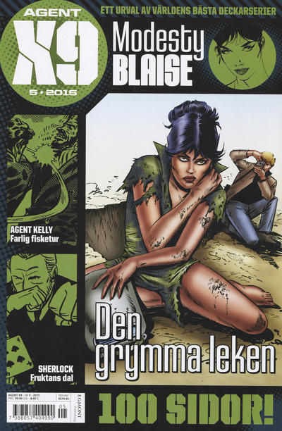 Cover for Agent X9 (Egmont, 1997 series) #5/2015