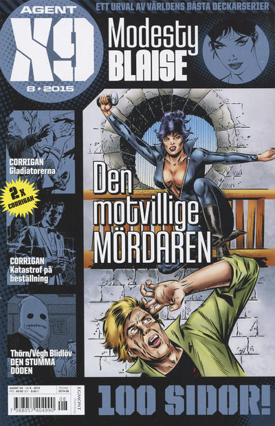 Cover for Agent X9 (Egmont, 1997 series) #8/2015