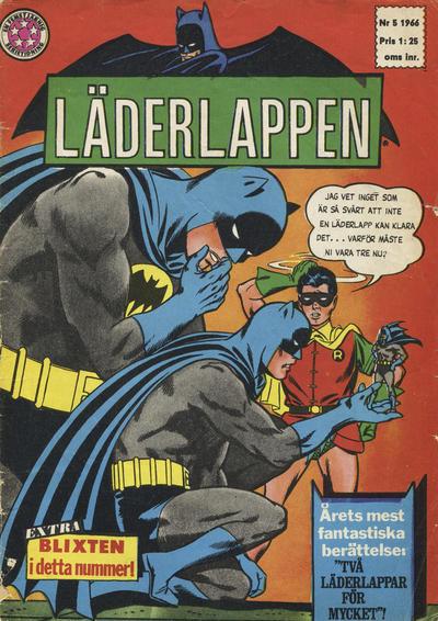 Cover for Läderlappen (Centerförlaget, 1956 series) #5/1966