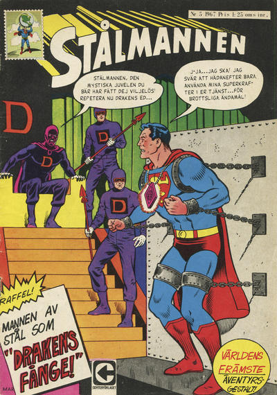 Cover for Stålmannen (Centerförlaget, 1949 series) #5/1967