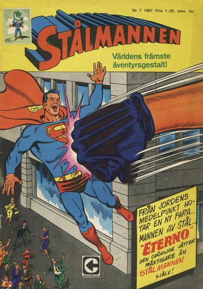 Cover for Stålmannen (Centerförlaget, 1949 series) #7/1967