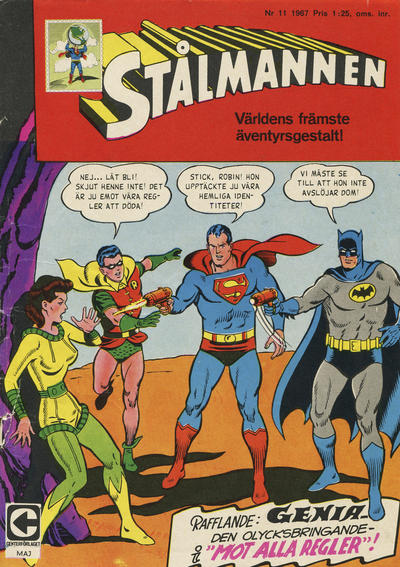 Cover for Stålmannen (Centerförlaget, 1949 series) #11/1967