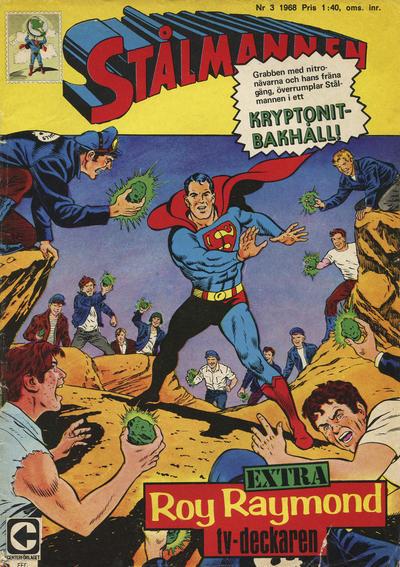 Cover for Stålmannen (Centerförlaget, 1949 series) #3/1968
