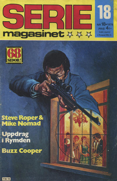 Cover for Seriemagasinet (Semic, 1970 series) #18/1978