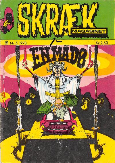 Cover for Skrækmagasinet (Williams, 1972 series) #5/1973