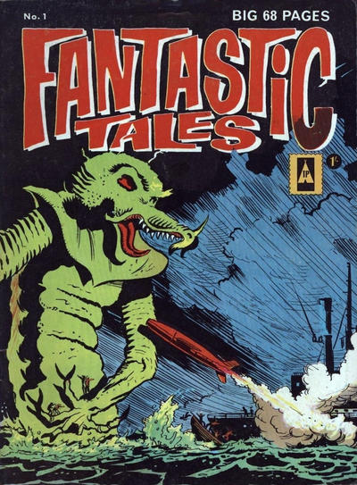 Cover for Fantastic Tales (Thorpe & Porter, 1963 series) #1