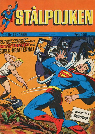 Cover for Stålpojken (Williams Förlags AB, 1969 series) #12/1969