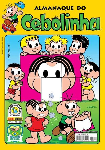 Cover for Almanaque do Cebolinha (Panini Brasil, 2007 series) #46