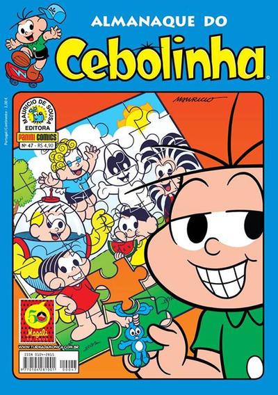 Cover for Almanaque do Cebolinha (Panini Brasil, 2007 series) #47