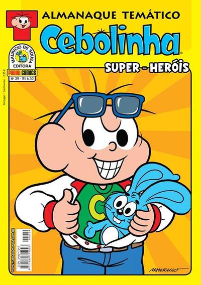 Cover for Almanaque Temático (Panini Brasil, 2007 series) #29 - Cebolinha: Super-Heróis