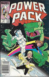 Cover for Power Pack (Marvel, 1984 series) #2 [75 cent]