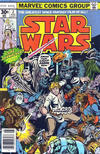 Cover Thumbnail for Star Wars (1977 series) #2 [Newsstand Edition 30 Cent Cover Price]