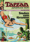 Cover for Tarzan (Williams Förlags AB, 1966 series) #14/1974