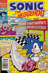 Cover for Sonic the Hedgehog (Archie, 1993 series) #13 [Newsstand Edition]