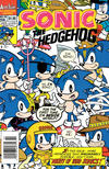 Cover for Sonic the Hedgehog (Archie, 1993 series) #19 [Newsstand Edition]