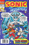 Cover Thumbnail for Sonic the Hedgehog (1993 series) #23 [Newsstand Edition]