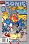 Cover Thumbnail for Sonic the Hedgehog (1993 series) #25 [Newsstand Edition]