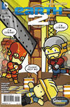 Cover for Earth 2 (DC, 2012 series) #19 [Scribblenauts Variant]