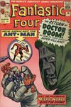 Cover for Fantastic Four (Marvel, 1961 series) #16 [British Price Variant]