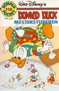 Cover Thumbnail for Donald Pocket (Hjemmet / Egmont, 1968 series) #118 - Donald Duck Mesterstuperen [1. opplag]