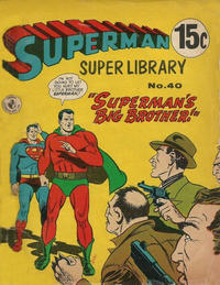 Cover Thumbnail for Superman Super Library (K. G. Murray, 1964 series) #40