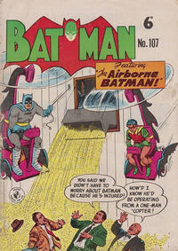 Cover Thumbnail for Batman (K. G. Murray, 1950 series) #107
