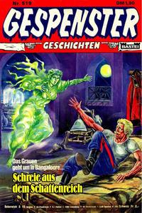 Cover Thumbnail for Gespenster Geschichten (Bastei Verlag, 1974 series) #519