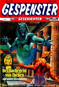 Cover Thumbnail for Gespenster Geschichten (Bastei Verlag, 1974 series) #521