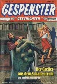 Cover Thumbnail for Gespenster Geschichten (Bastei Verlag, 1974 series) #523