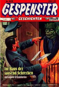 Cover Thumbnail for Gespenster Geschichten (Bastei Verlag, 1974 series) #529