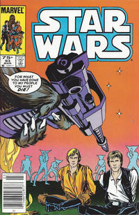 Cover Thumbnail for Star Wars (Marvel, 1977 series) #93 [Canadian]