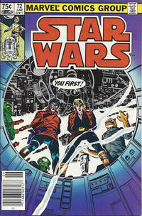 Cover Thumbnail for Star Wars (Marvel, 1977 series) #72 [Canadian]