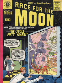 Cover Thumbnail for Race for the Moon (Thorpe & Porter, 1959 ? series) #4