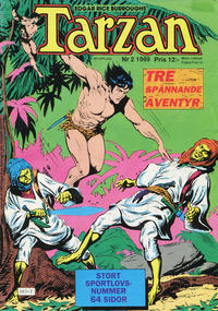 Cover Thumbnail for Tarzan (Atlantic Förlags AB, 1977 series) #2/1989