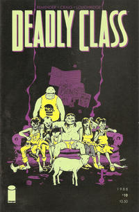 Cover Thumbnail for Deadly Class (Image, 2014 series) #10