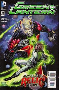 Cover Thumbnail for Green Lantern (DC, 2011 series) #43