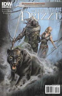 Cover Thumbnail for Dungeons & Dragons: The Legend of Drizzt: Neverwinter Tales (IDW, 2011 series) #3 [Cover A Gonzalo Flores]