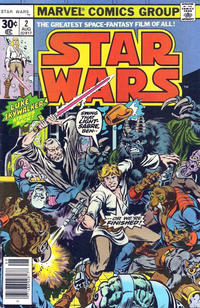 Cover Thumbnail for Star Wars (Marvel, 1977 series) #2 [30¢ Cover Price]