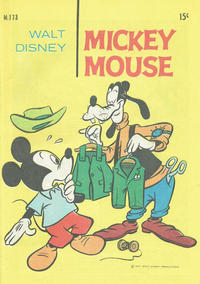 Cover Thumbnail for Walt Disney's Mickey Mouse (W. G. Publications; Wogan Publications, 1956 series) #173