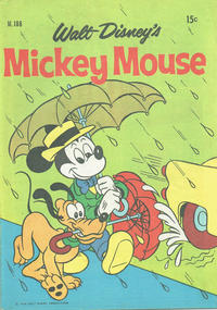 Cover Thumbnail for Walt Disney's Mickey Mouse (W. G. Publications; Wogan Publications, 1956 series) #186