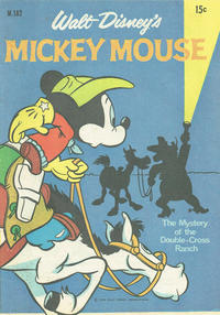 Cover Thumbnail for Walt Disney's Mickey Mouse (W. G. Publications; Wogan Publications, 1956 series) #182