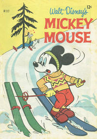Cover Thumbnail for Walt Disney's Mickey Mouse (W. G. Publications; Wogan Publications, 1956 series) #117