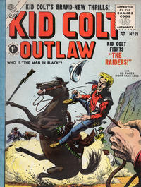 Cover Thumbnail for Kid Colt Outlaw (Thorpe & Porter, 1950 ? series) #21