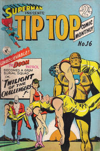 Cover Thumbnail for Superman Presents Tip Top Comic Monthly (K. G. Murray, 1965 series) #16