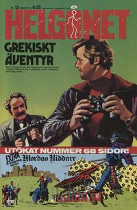 Cover Thumbnail for Helgonet (Semic, 1966 series) #13/1980