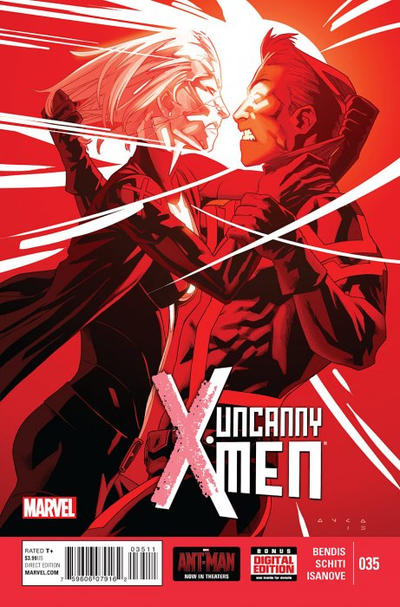 Cover for Uncanny X-Men (Marvel, 2013 series) #35 [Direct Edition]