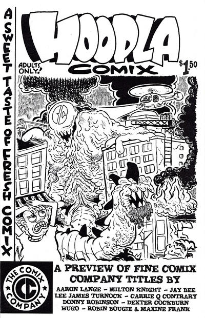 Cover for Hoopla Comix (The Comix Company, 2015 ? series)