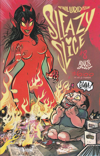 Cover for Sleazy Slice (Robin Bougie, 2007 series) #8