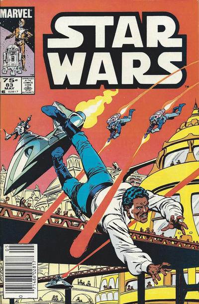 Cover for Star Wars (Marvel, 1977 series) #83 [Direct Edition]